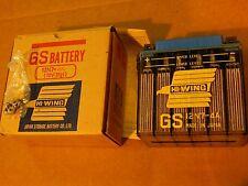 12N7-4A NOS GS BATTERY TRIUMPH TR5T TROPHY TRAIL & Lightning 650 Bonneville