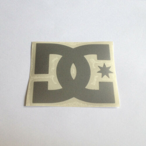 ST-D022 Adesivo Sticker DC SHOES Nero giallo Verde Rosa Argento