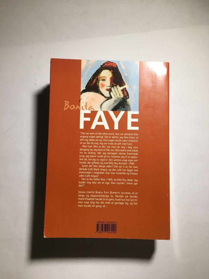 Bonita Faye, Margaret Moseley, genre: roman