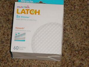 LATCH SOFT Nursing Pads NEW 5 x Thinner 5 x Drier Box of 60