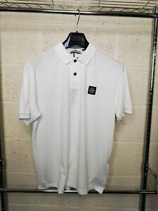 Stone-Island-Short-Sleeve-Polo-Shirt-In-White-BNWT