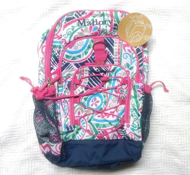 New Pottery Barn Teen Gear Up Girls Backpack Monogram