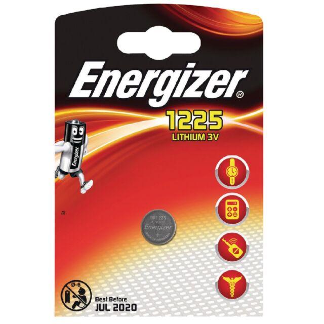 1x Pila Boton Energizer BR1225 Batería Litio 3V