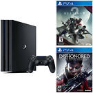 Sony PS4 Pro 1TB Gaming Console + 2 Games