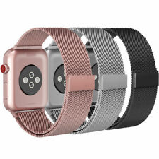 For Apple Watch Series 5 4 3~1 iWatch Metal Band Strap Adjustable 44 42 40 38MM