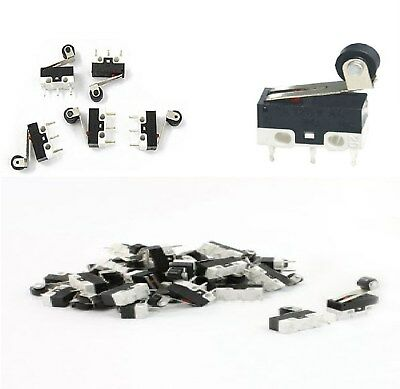 10 X Microswitch leva corta miniatura pulsante fine corsa 1 A 125//250 V SPDT