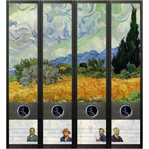 File Art 4 Design Ordner-Etiketten Van Gogh..................................073