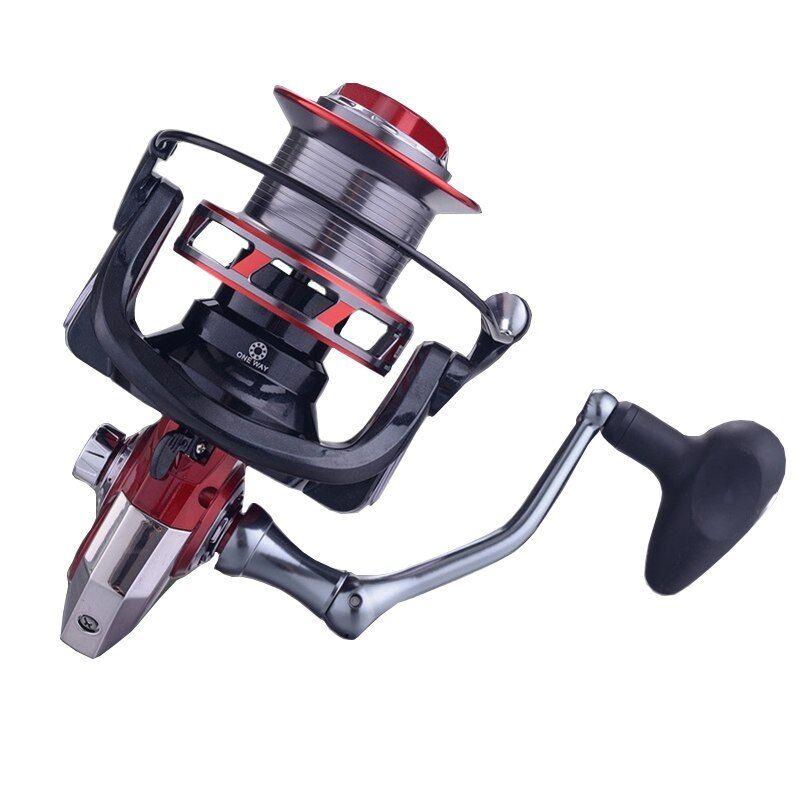 Sea Fishing Spinning Reel 8000 10000 12000 Metal Spool 13+1BB Saltwater