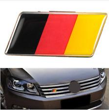 Aluminium German Germany Flag Badge Grille Emblem Car Sticker Decal Universal De