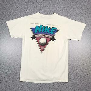 1993-Vintage-NIKE-VOLLEYBALL-FESTIVAL-Mens-T-Shirt-Large-Single-Stitch-Grey-Tag