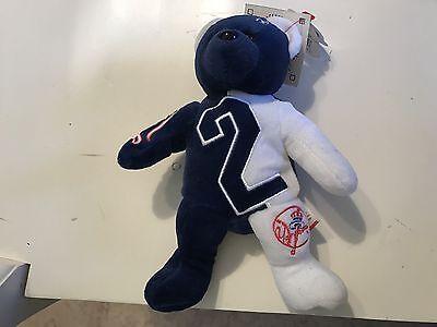 LiebenswüRdig Ny Yankees Derek Jeter #2 Team Bohnen Bär Neu Mit Etiketten Fanartikel