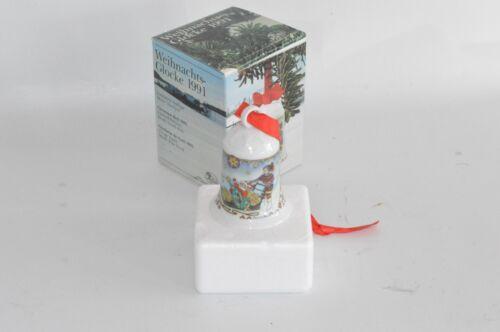 Hutschenreuther De Noël Cloche 1991 neuf dans sa boîte cloche//g3