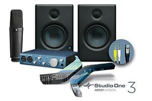 Presonus-Special-Edt-Recording-Bundle-Recording-Komplett-Set-Rode-NT1000-Mik