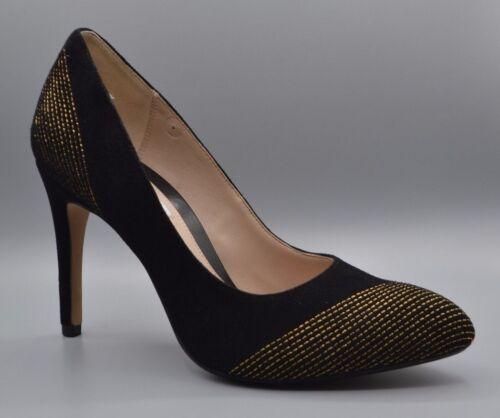 Bright 7 Talons 3 en Chaussures Clarks Uk hauts D daim always Nouveau noir 5 wgBqRO