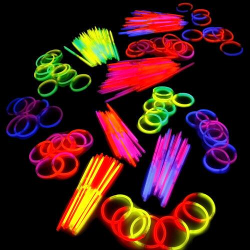 Party Knicklichter Leuchtstäbe 1000 Armknicklichter im bicolor 5-Farb-Mix