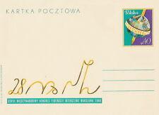 Poland prepaid postcard (Cp 415) INTERSTENO