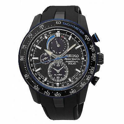 Black Watch Ssc429p1 Mens Sportura Solar Perpetual Analog Seiko OnlineEbay Casual For Sale jLqUVMSzpG