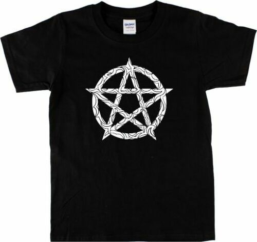 Pagan Magic Wicca Punk Pentagram T-Shirt Witch Various Colours Gothic