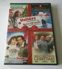"Holiday 4 Film Collector's Set + Bonus CD Inside PATRICK SWAYZE **RARE**  ""NEW"""