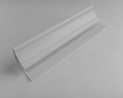 4 White Coving Fittings for Bathroom Wall Panels UPVC Wet Wall Coving Fittings