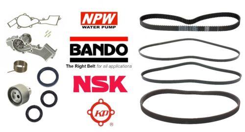 NPW Japan Water Pump Complete Timing KIT /& Drive Belt KIT for Xterra 3.3L V6