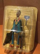 Paya Tin Plate Toy Walking Travelling Man with Suitcases wind up clockwork MIB