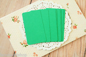 Emerald green blank business cards handmade wedding diy save the image is loading emerald green blank business cards handmade wedding diy reheart Gallery