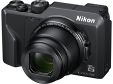 Artikelbild NIKON Coolpix A1000 Schwarz 35x opt. Zoom WLAN Bluetooth RAW Touchscreen