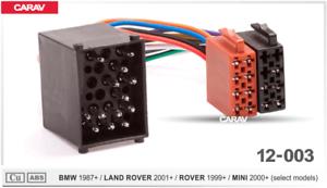 radio wiring land rover carav12 003 iso car radio wiring harness adaptor connector for bmw  radio wiring harness adaptor connector