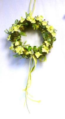 Home Décor Trustful Formano Kranz Hortensie Grün 30 Cm Tür Deko Tisch Kunstblumen Blume Blätter Exquisite Traditional Embroidery Art
