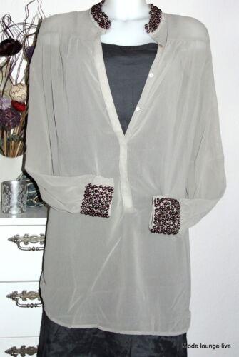 Ester M Blouse Tunic Grau Perlen L Long S Olivia Tunika Grey Perls Bluse Elenora rfqTwFxr7