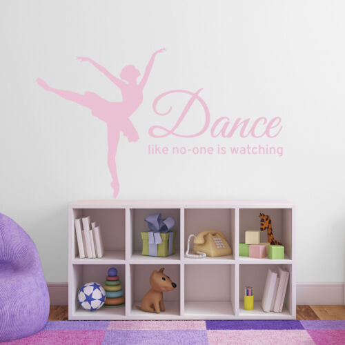 decal Dance like no-one is watching wall sticker