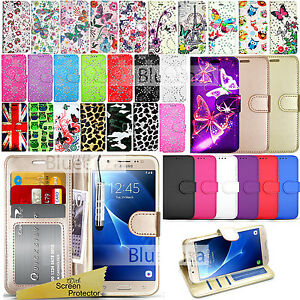 best website 0dd92 bdd66 Details about For SAMSUNG GALAXY J5 2016 - Wallet Leather Case Flip Cover +  Screen Protector