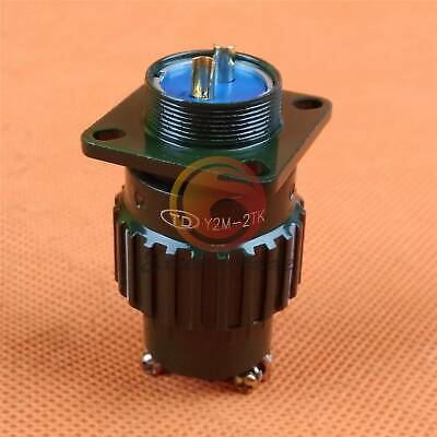1PCS Military 20mm 5 Pin Twist Male Female Connector