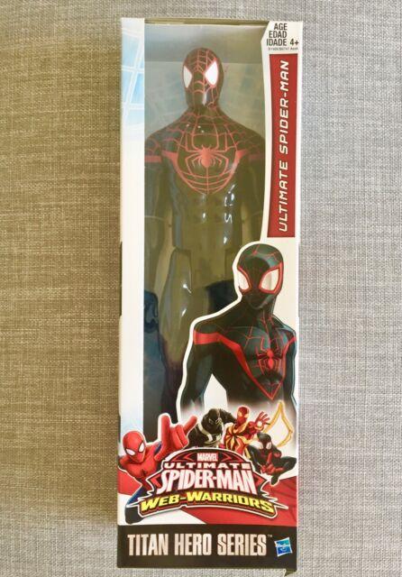 "VENOM MARVEL TITAN HERO SERIES FIGURE ULTIMATE SPIDER-MAN WARRIORS 12/"" NRFB NEW"