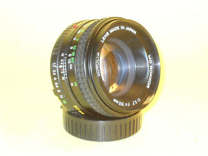 Minolta-MD-ROKKOR-50mm-1-1-7-lens-in-extremely-good-condition
