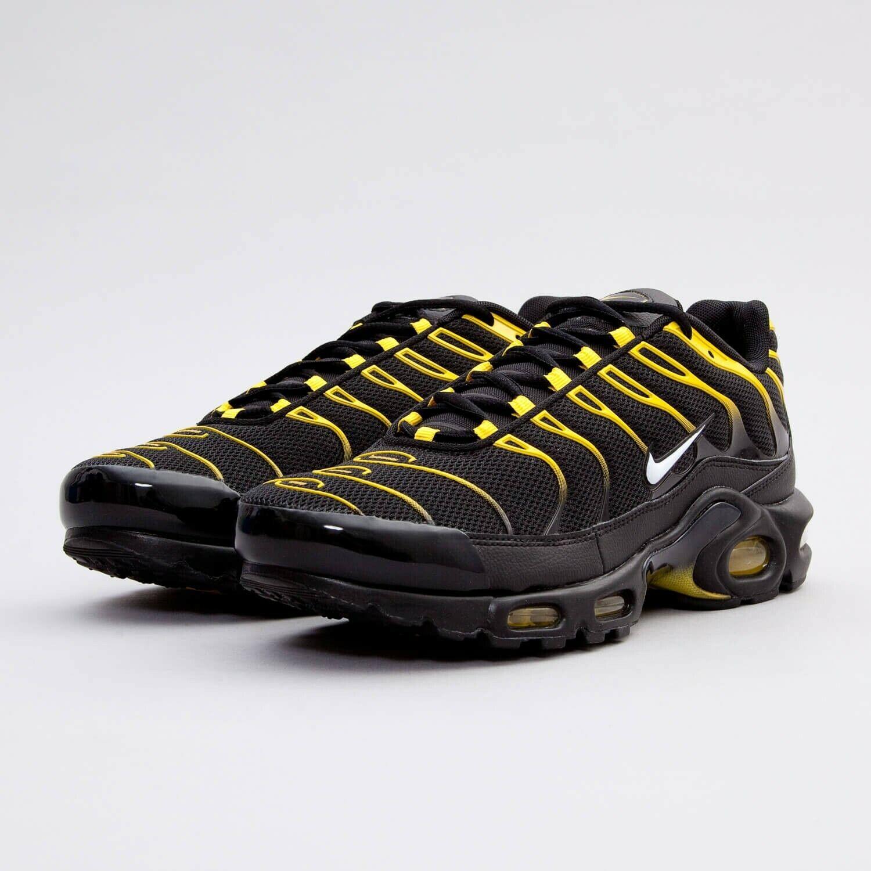 Nike Air Max TN 09 Hombres Zapatillas Negro Rojo
