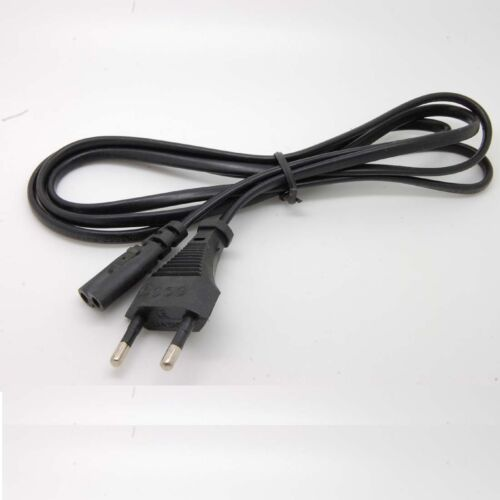 New AC power supply adapter cord Cable Connectors Europe //eu 2 pin 2-prong c43