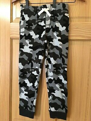 NWT Gymboree Boys Pull on Pants Navy Blue Gray Camo Sweatpants Outlet