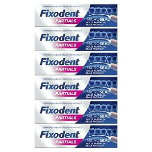 6-x-Fixodent-Partials-0-Premium-Denture-Adhesive-Microseal-Strong-Hold-40g