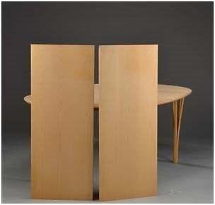 Spisebord, bøgetræ, Haslev Møbelsnedkeri