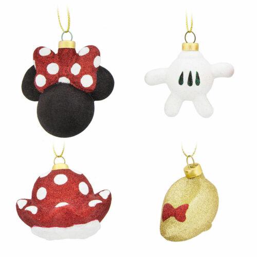 Minnie Maus Dekorationsstücke Ornament 4er-Set NEU Original Disney USA