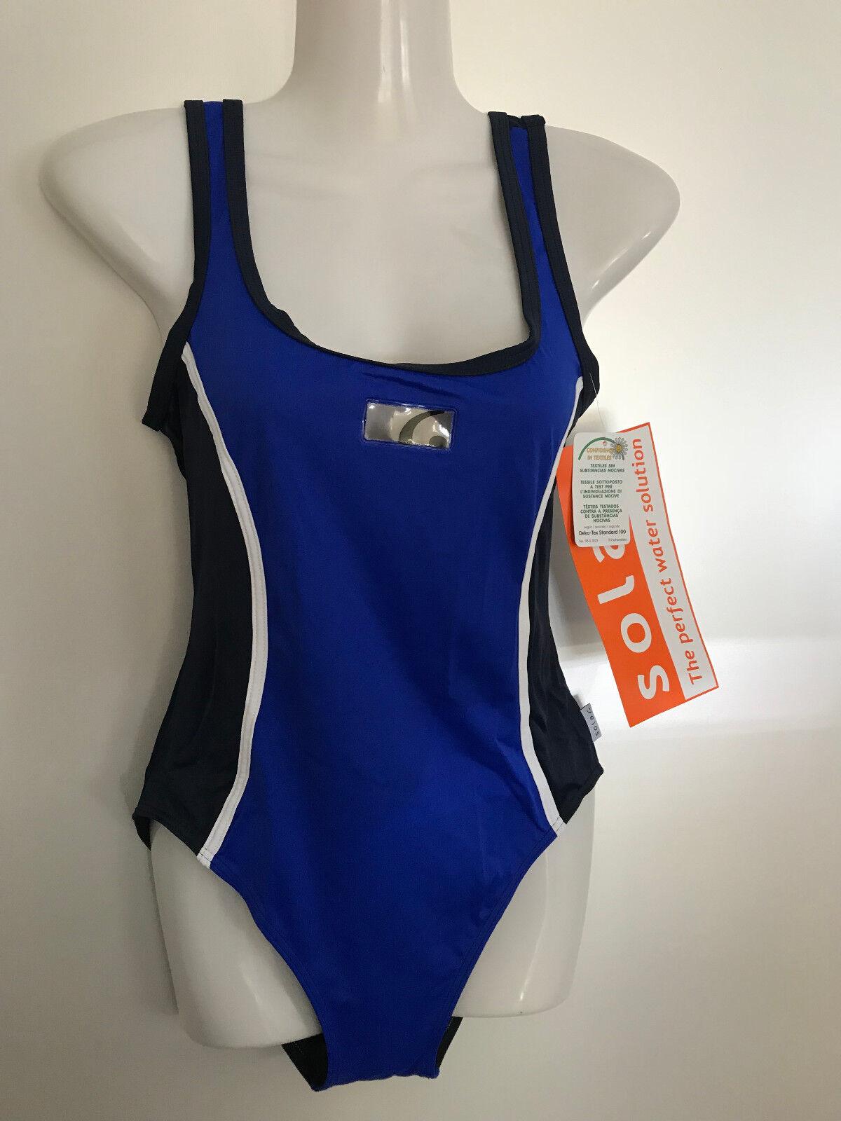 Solar Schöner Sport Badeanzug , Wettkampf Gr 38 Neu