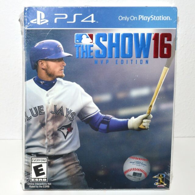 The Show 16 MVP Edition PS4 Playstation Game Disc Basball League Sealed New