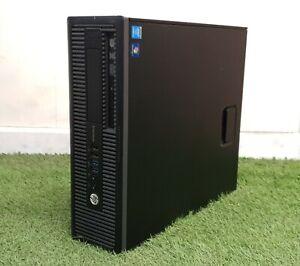 Veloce-a-buon-mercato-HP-ProDesk-EliteDesk-SFF-PC-i3-4th-generazione-8GB-RAM-500GB-HDD-Windows-10