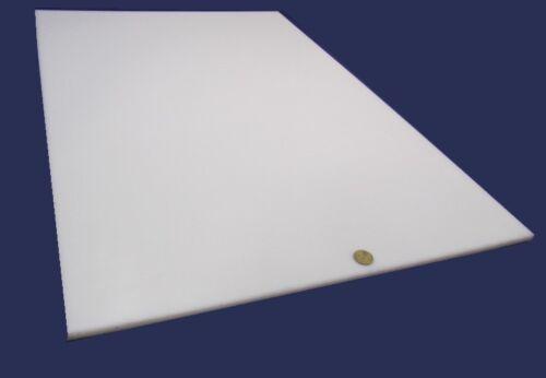 "x 24/"" x 36/"" 3//8/"" 1 Unit HDPE .375/"" Polyethylene Sheet White"