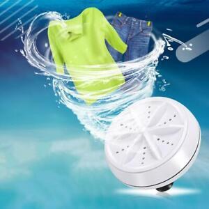 Mini-Waschen-Waschmaschine-Waschmaschine-Tragbare-Rotierende-Ultraschall-Turbine