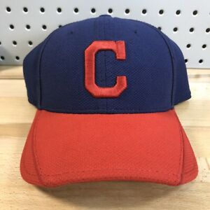 Cleveland Indians MLB Spring Training New Era 39THIRTY Fitted Cap S/M EUC Hat
