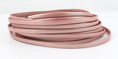 Poder 1 M Colgante Rosa Metalizado 5 X 1,5 Mm Fabricar Joyas Ue-ware Promover La ProduccióN De Fluidos Corporales Y Saliva