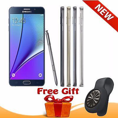 New Samsung Galaxy Note 5 32GB 64GB Unlocked W/ Free Jawbone UP Move Tracker